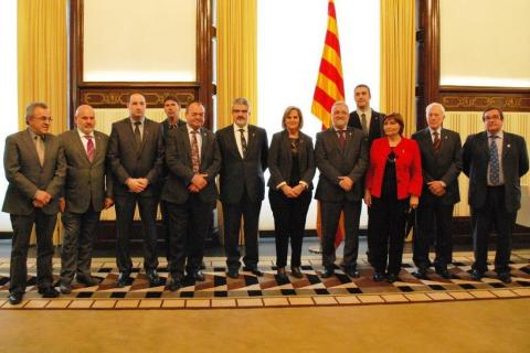 Reunió amb la Presidenta del Parlament de Catalunya