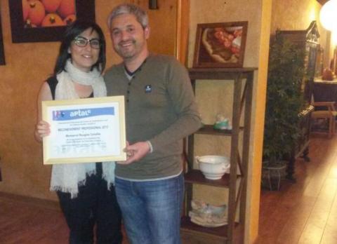 Premi reconeixement professional, Àrea de Turisme CCS