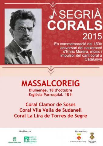 Segrià Corals a Massalcoreig