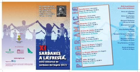 Sardanes a la Fresca 2015