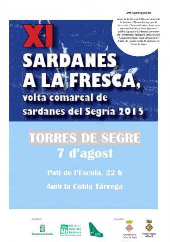 Sardanes a la Fresca Torres de Segre