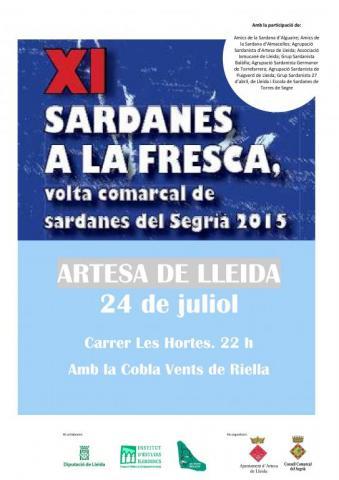 Sardanes a la Fresca Artesa de Lleida