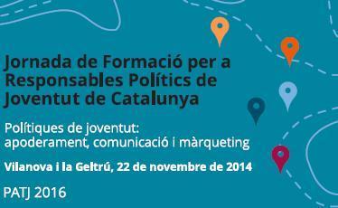 Jornada de Formació per a Responsables Polítics de Joventut de Catalunya 2014