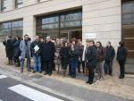 Concentració contra la reforma de l'Administració local