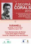 Segrià Corals a Sudanell