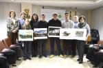 Els guanyadors del Premi amb les fotografies premiades al CCSegrià