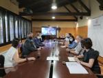 La reunió ha estat presidida pel president del Consell, David Masot, i l'alcalde de Lleida, Miquel Pueyo.