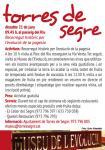 2a edició Camins de fruita dolça al Segrià - TORRES DE SEGRE